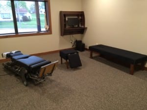 We strive to make our patients comfortable during their chiropractic visit.